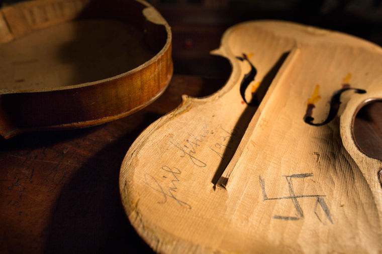 New Gallery Exhibit Focuses on Violins